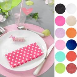 Choisissez la couleur de vos sets de table
