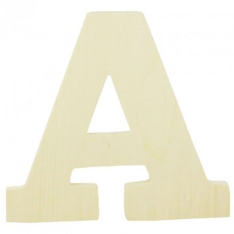Lettre en Bois à Décorer 12 cm x 8mm