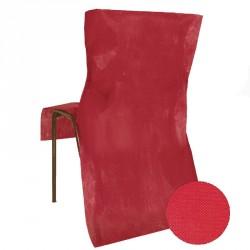 Housse de chaise jetable Bordeaux Opaque