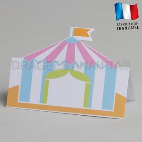 Marque place sur le thème du cirque