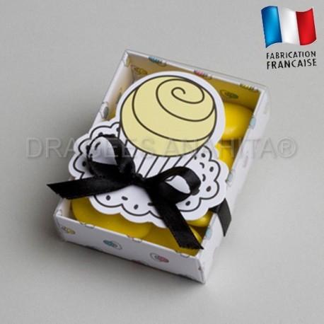 Fourreau à dragées cupcake