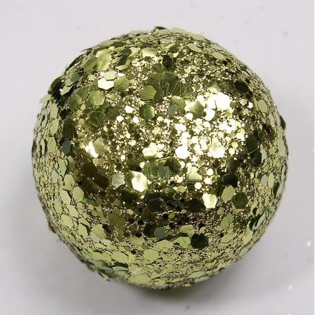 Boule paillette Vert