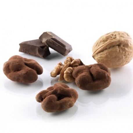 Noix enrobée de chocolat fondant