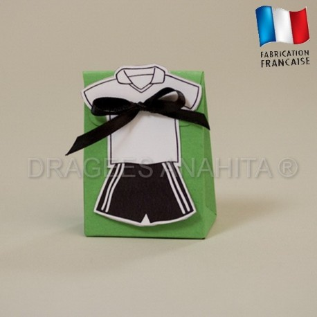 Pochon dragées maillot de football