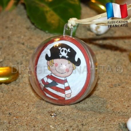Boule à dragées pirate