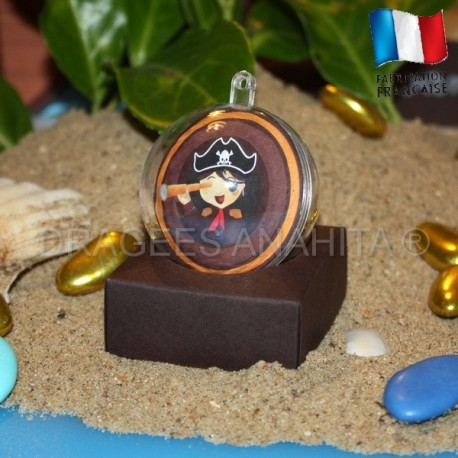 Boule à dragées pirate