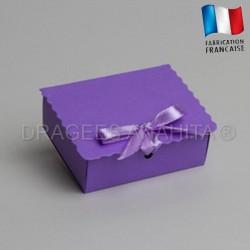 Ecrin à dragées lilas