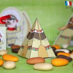 Pyramide à dragées tippie