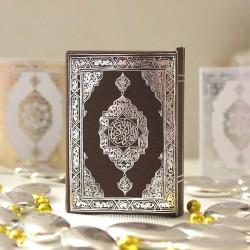 Mini Coran marron et argent