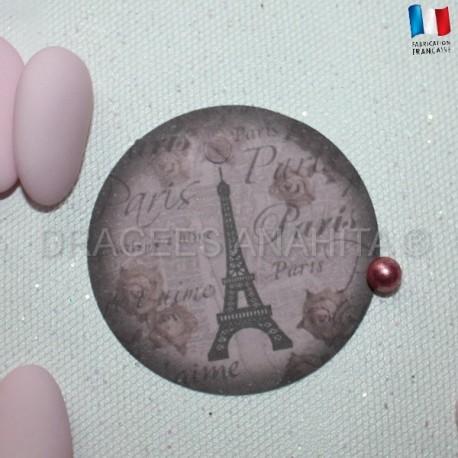 Etiquette thème Paris