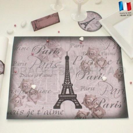 Set de table thème Paris