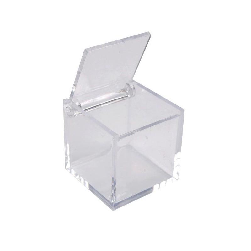 boite carr en pl xi contenant drag es transparent drag es anahita. Black Bedroom Furniture Sets. Home Design Ideas