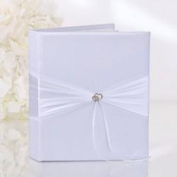 Livre d'or mariage coeur doré