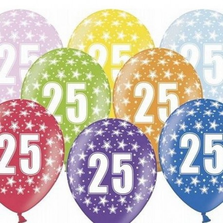 Ballon Gonflable 25 ème Anniversaire