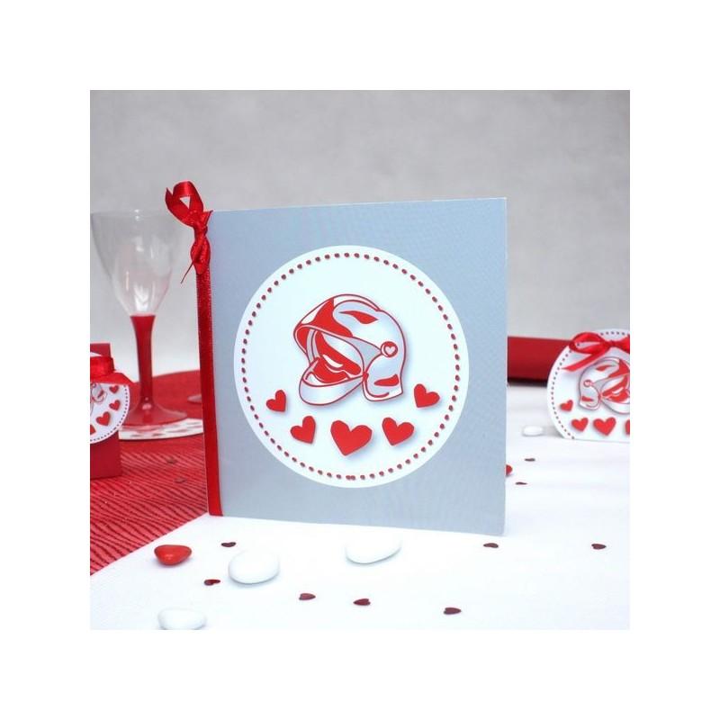 Top Faire part mariage pompier - Dragées Anahita QI86