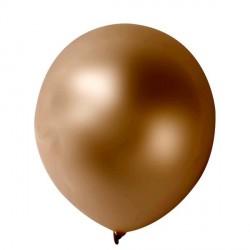 10 ballons métalisés chocolats