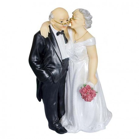 Couple de vieux mariés Fleur