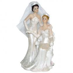 Figurine mariage lesbien 13cm