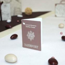 Etiquette passeport