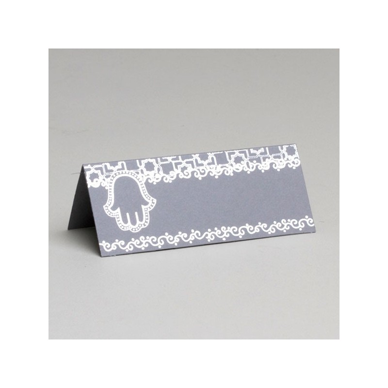 marque place mariage oriental gris - Marque Place Mariage Oriental
