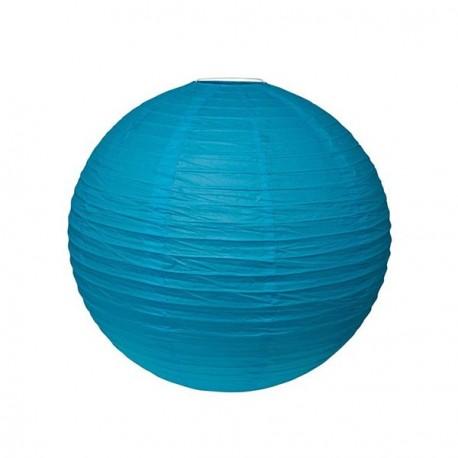 Lampion turquoise 25 cm