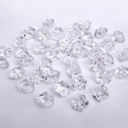 Pierres cristal transparentes