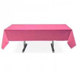 Nappe fuchsia rectangle pas cher intissé 5 m x 1.5 m