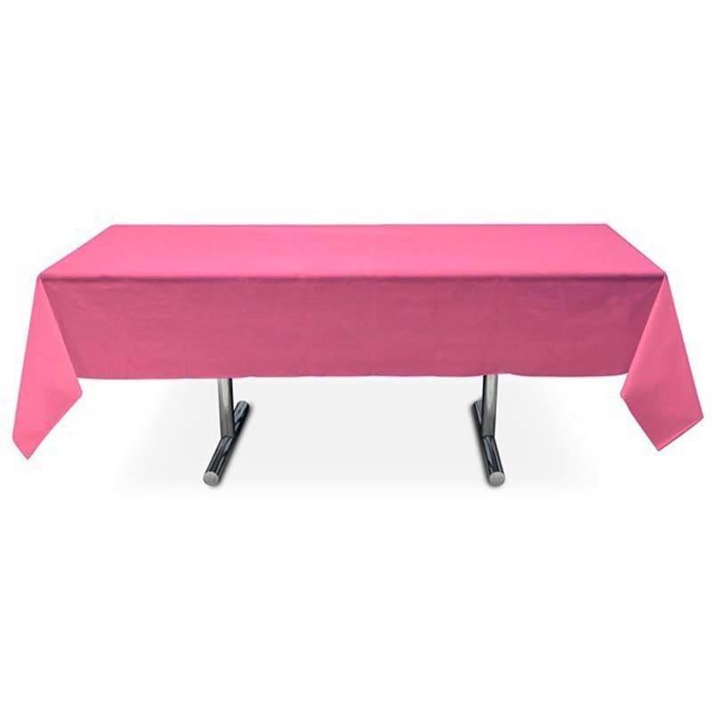 nappe rectangle fuchsia prix imbattable 3 99. Black Bedroom Furniture Sets. Home Design Ideas