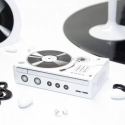 Boite à dragées platine DJ boite à dragées musique