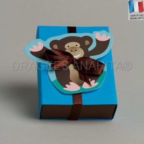 Fourreau à dragées en forme singe