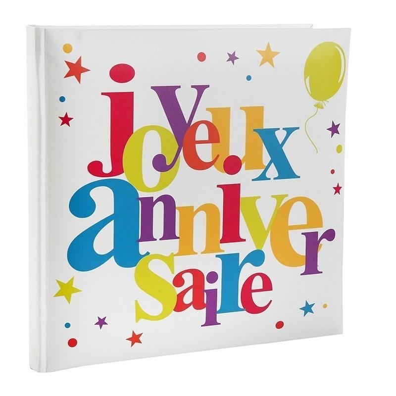 Sehr Livre d'or joyeux anniversaire multicolore - Dragées Anahita GP73